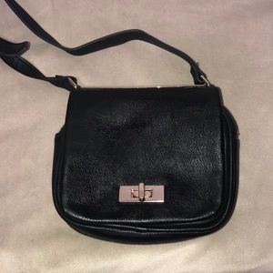 Charming Charlie Small Black Shoulder purse